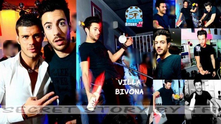 Robin à la Villa Bivona le 3 mars