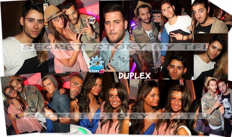 Aurélie, Rudy, Daniel, Simon, Zelko, Geoffrey au Duplex le 29 mars