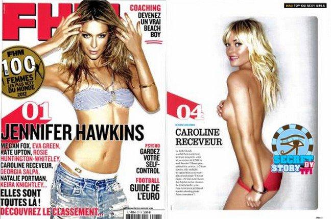 Caroline Receveur: 4 ème femme la plus sexy selon FHM