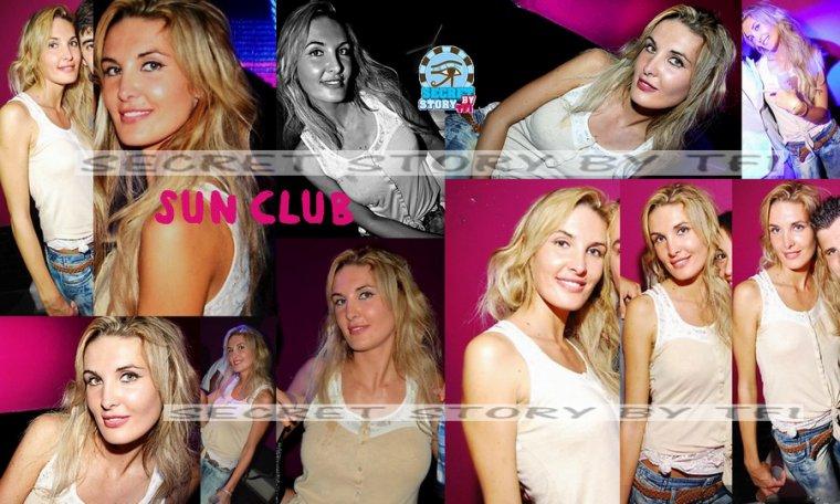 Marie Garet au Sun Club le 19 juillet