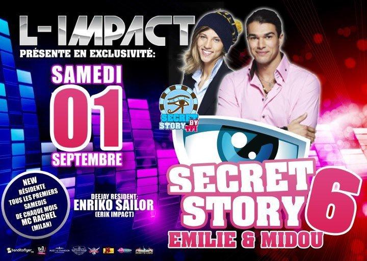 Emilie et Midou à l'Impact le 1er septembre