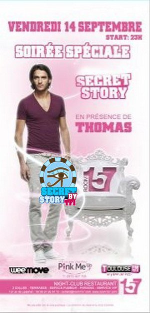 Thomas au Room 157 Toulouse le 14 septembre