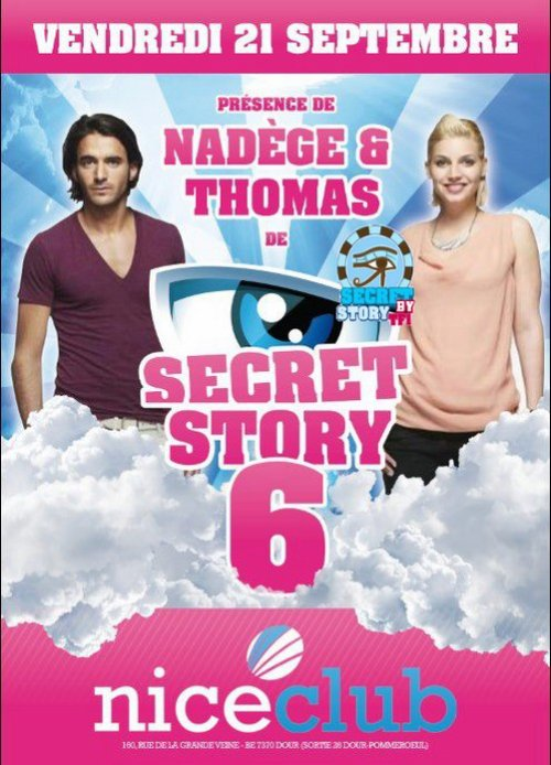 Thomas & Nadège au Nice Club de Dour (B) le 21 septembre