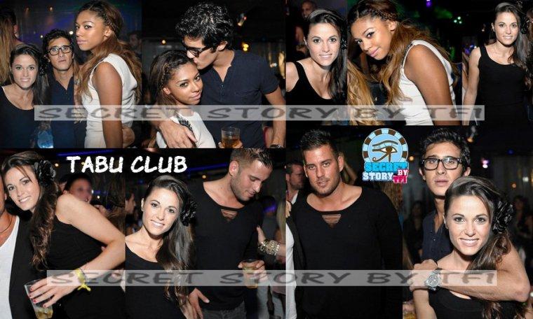 Capucine, Ginie, David, Zelko au Tabu Club