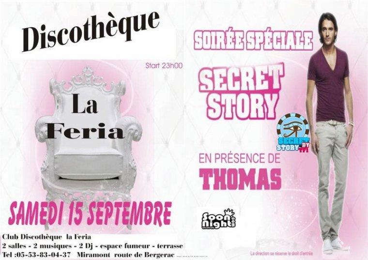 Thomas à La Féria de Miramont (47) le 15 septembre