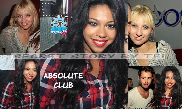 Ginie, Alex et Virginie à l'Absolute Club le 14 septembre