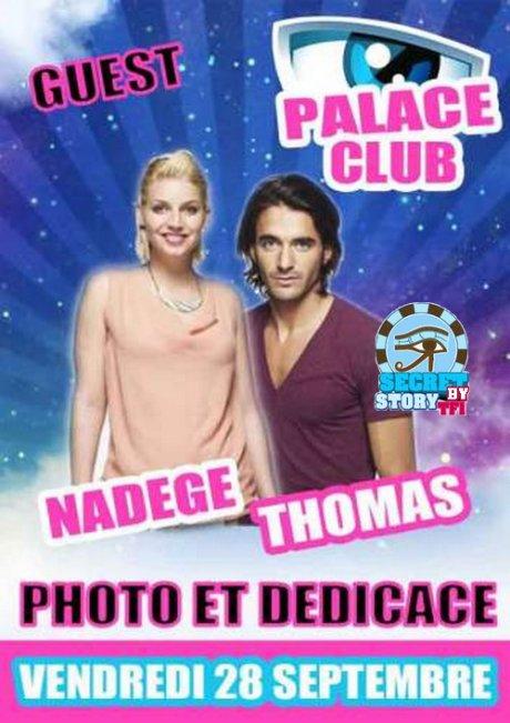 Nadège au Palace de Rouen avec Thomas ... ou pas !!