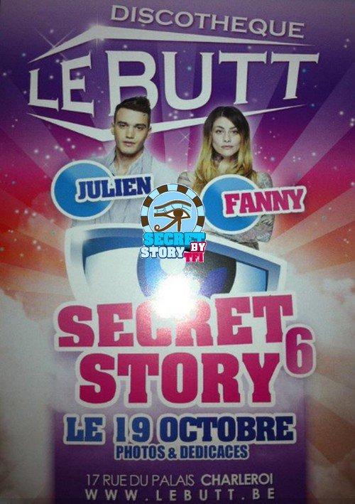 Julien et Fanny au Butt le 19 octobre