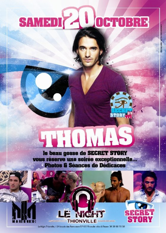 Thomas au Night de Thioville (57) le 20 octobre