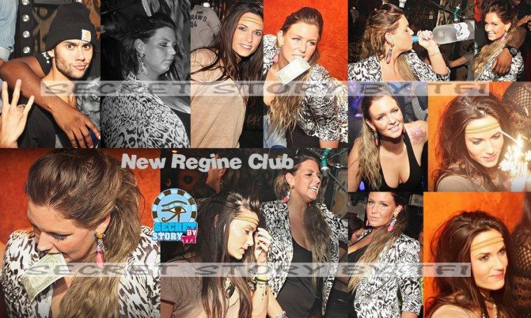 Simon, Capucine et Aurélie au Regine Club