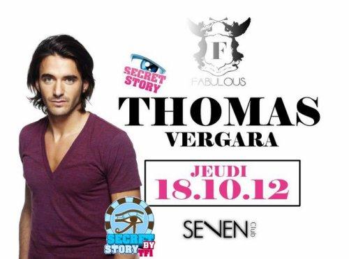 Thomas au Seven Club de Strasbourg jeudi 18 octobre