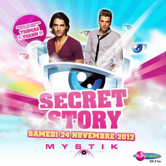 Secret story: Thomas et Yoann au Mystik à Marseille le 24 novembre