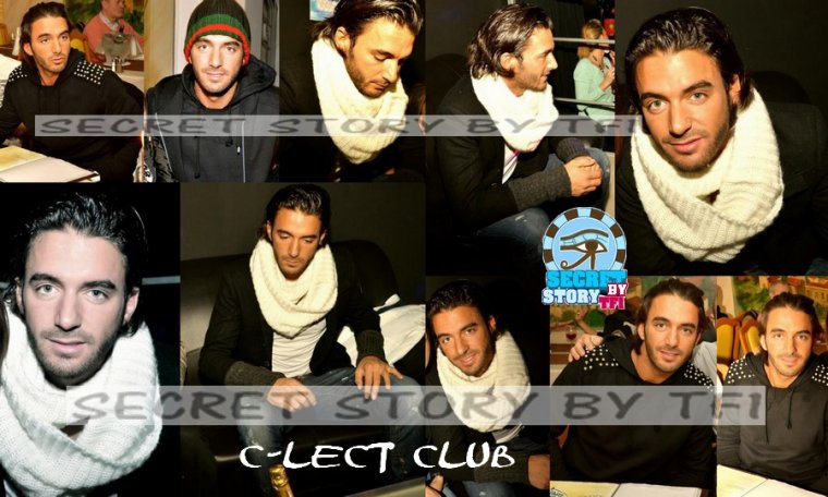 Secret story: Thomas au C-lect Club