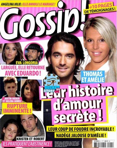 Secret story: C'est dans GOSSIP paru aujourd'hui !!!