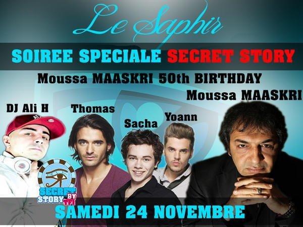 Thomas, Yoann et Sacha au Shisha Le Saphir le 24 novembre