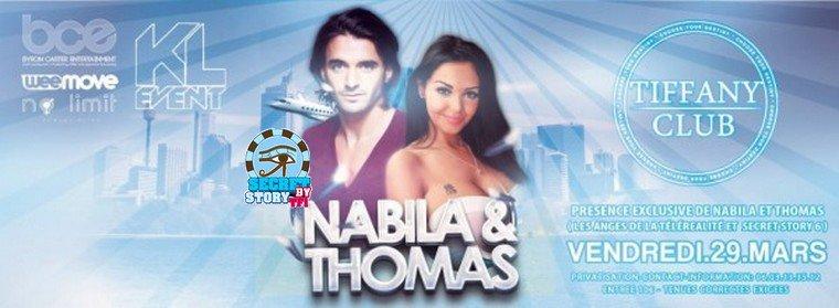 Thomas en tournée des discothèques en mars