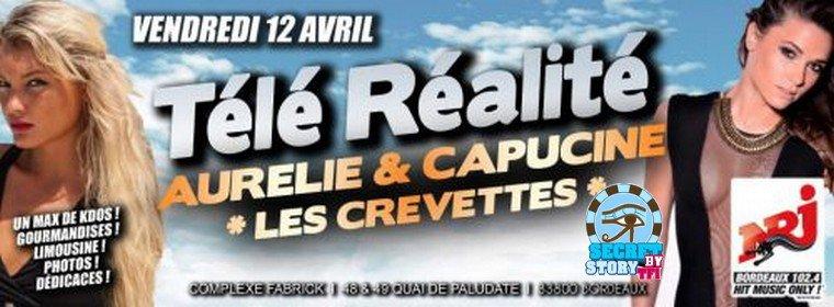 Capucine à la Fabrick  de Bordeaux le 12 avril