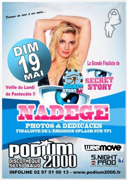 Nadège à La Discothèque Le Podium 2000 de Baud (56) le 19 mai