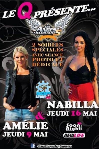 Amélie à Bourges le 9 mai