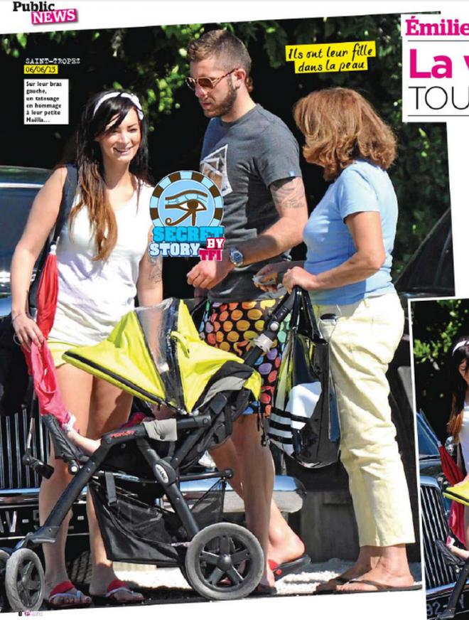 Emilie Nef Naf (SS3) vacances en famille à St Tropez