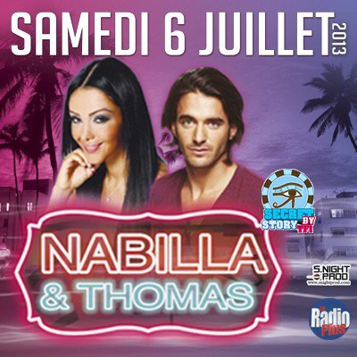 Nadège, Aydrey, Thomas en discothèque samedi 6 juillet