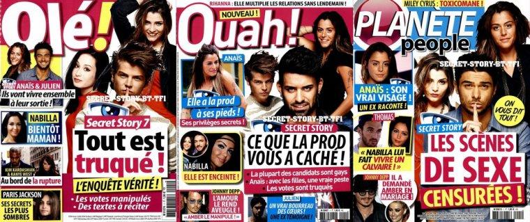 Olé, Ouah, Planète people, les nouveaux venus de la presse !!!