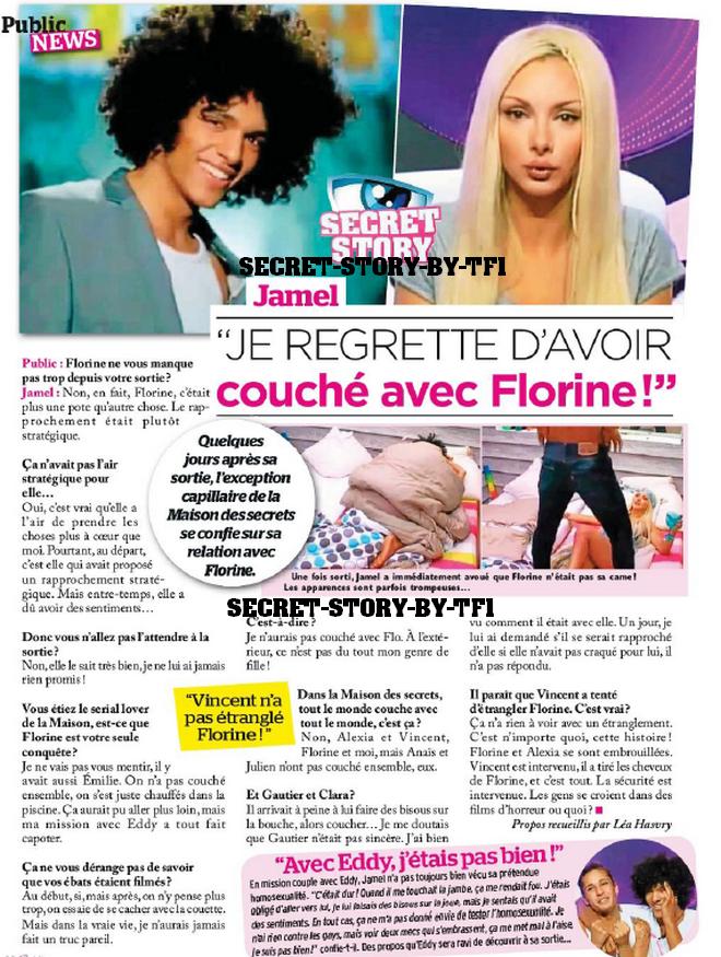 Jamel ! des regrets pour Florine !