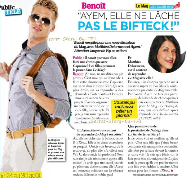 Benoît, toujours aussi mauvaiiise !