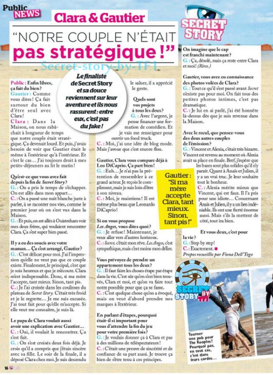 Clara & Gautier, Amour ou stratégie ?