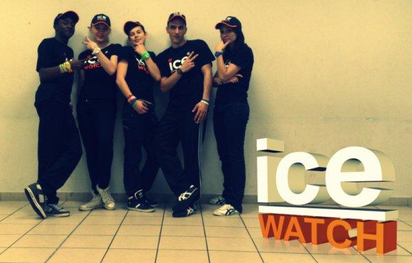 """Photo après la démo pour la marque """"ICE WATCH"""""""