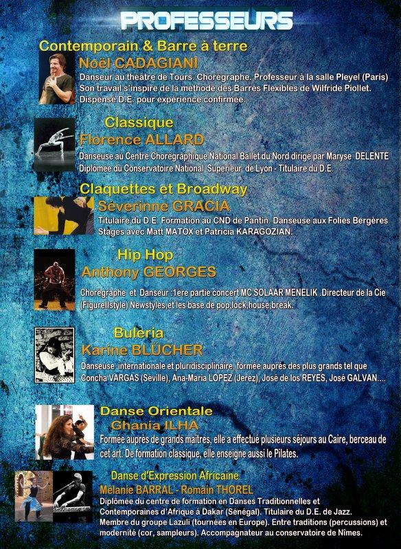 EVENEMENT à ne pas manquer les amis STAGE DE DANSE D'ETE 2012 à Nîmes
