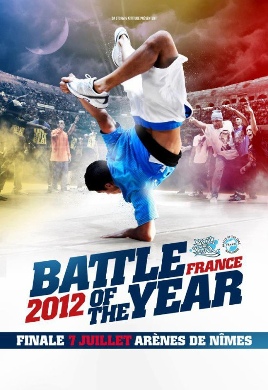 """SALUT A TOUS SOYEZ AU RENDEZ-VOUS POUR L'ÉVÈNEMENT DU MOI DE JUILLET 2012 """"BATTLE OF THE YEAR"""""""
