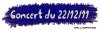 C O N C E R T    D U     22/12/11