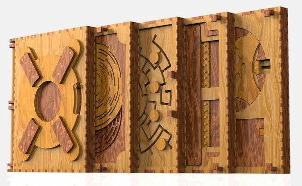 Le Codex Silenda : un livre puzzle. Le premier livre qui s'ouvre avec des énigmes.