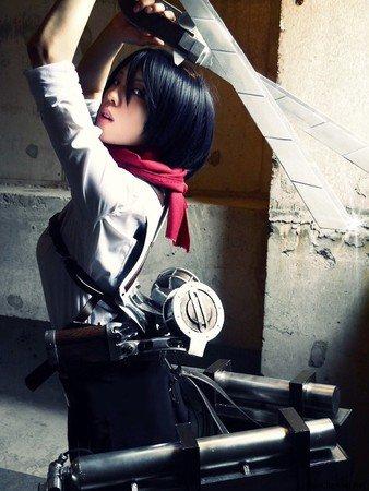 Shingeki no Kyojin : Mikasa Ackerman partie 1