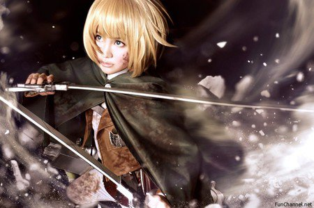 Shingeki no Kyojin : Armin Arlelt