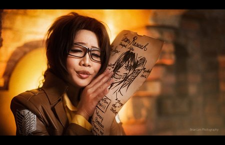 Shingeki no Kyojin : Hanji Zoe
