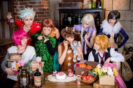 Nanatsu no Taizai : Groupe