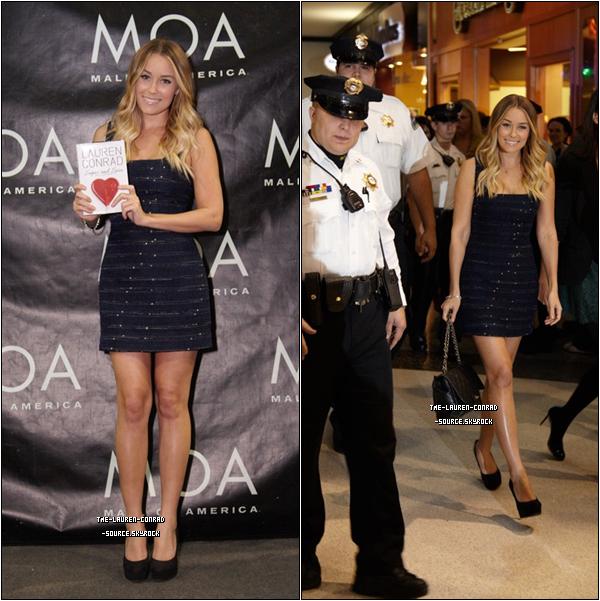. Lauren était au Mall of America pour faire la promo de son livre !.