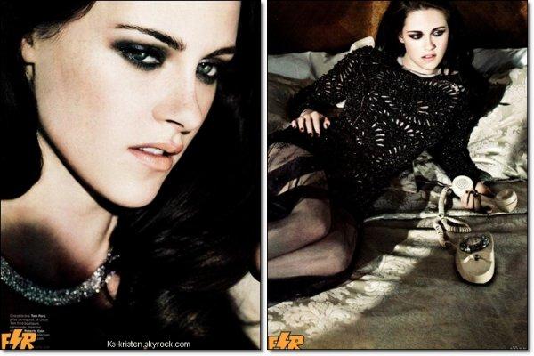 MAGAZINE : Kris en couverture du magazine ELLE US du mois de Juin