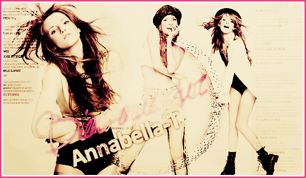 Bienvenue sur Annabella-T, ta source d'actualité sur la talentueuse Bella Thorne!