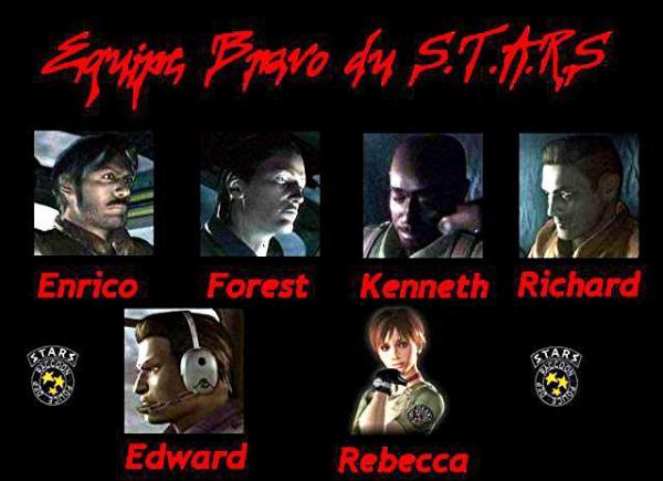 L'équipe Bravo du S.T.A.R.S