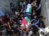 Gaza, Palestine: The funeral of Journalist The Martyr Yaser Murtaja...