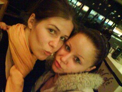 moi et ma cousine (la marraine)