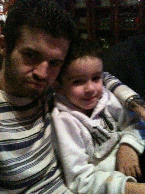 moi et mon petit frere mederic