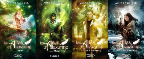 Fiche de lecture: Les ailes d'Alexanne