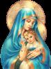La Sainte Vierge Marie fait partie du si grand mystère de Dieu.