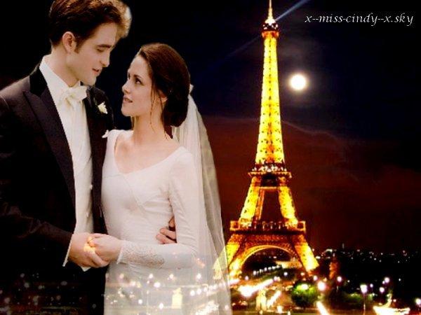 MONTAGE D ELENA A PARIS ET TWILIGHT MARIAGE