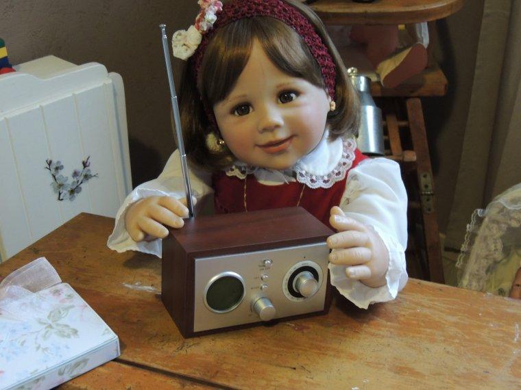prune et sa radio