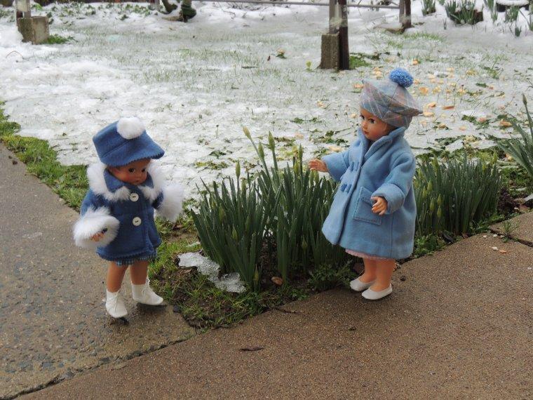 il a neigé....hier soir............bonne journée